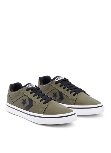 Converse Converse Gri - Siyah - Beyaz Lifestyle Ayakkabı Gri